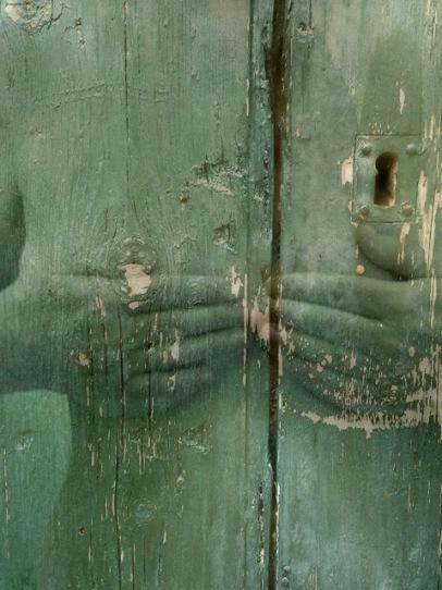 La porte de son cœur - Elle - Heart's door - Her / 45 x 60 cm